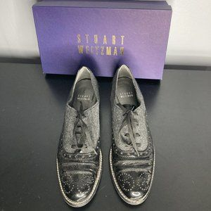 UNIQUE Stuart Weitzman Oxford Shoes Size 8